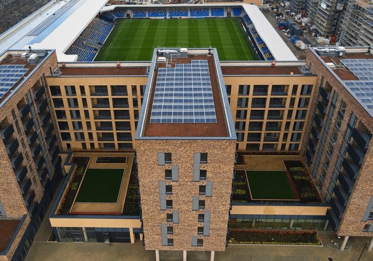 Wimbledon Grounds Blue Roof